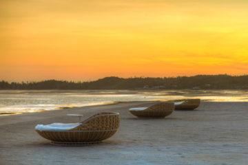 Kandaya's sunset view