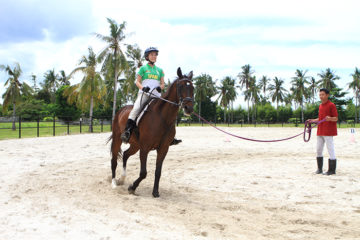 Kuwadra's Horse Riding Lesson