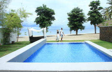 An outside view of Pool Villa