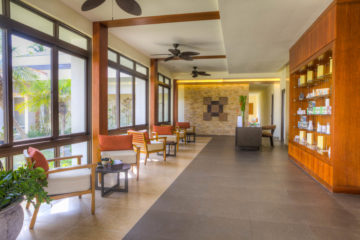 Daya Spa's Reception Area