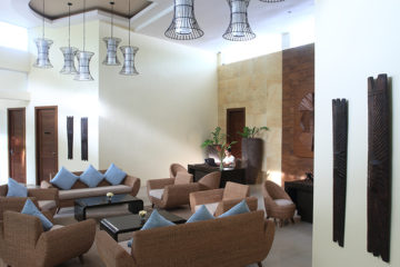 Kandaya's Reception Area